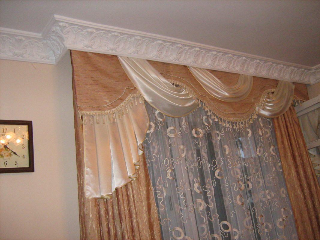 шторы и тюль на багеты фото менее, дизайн должен